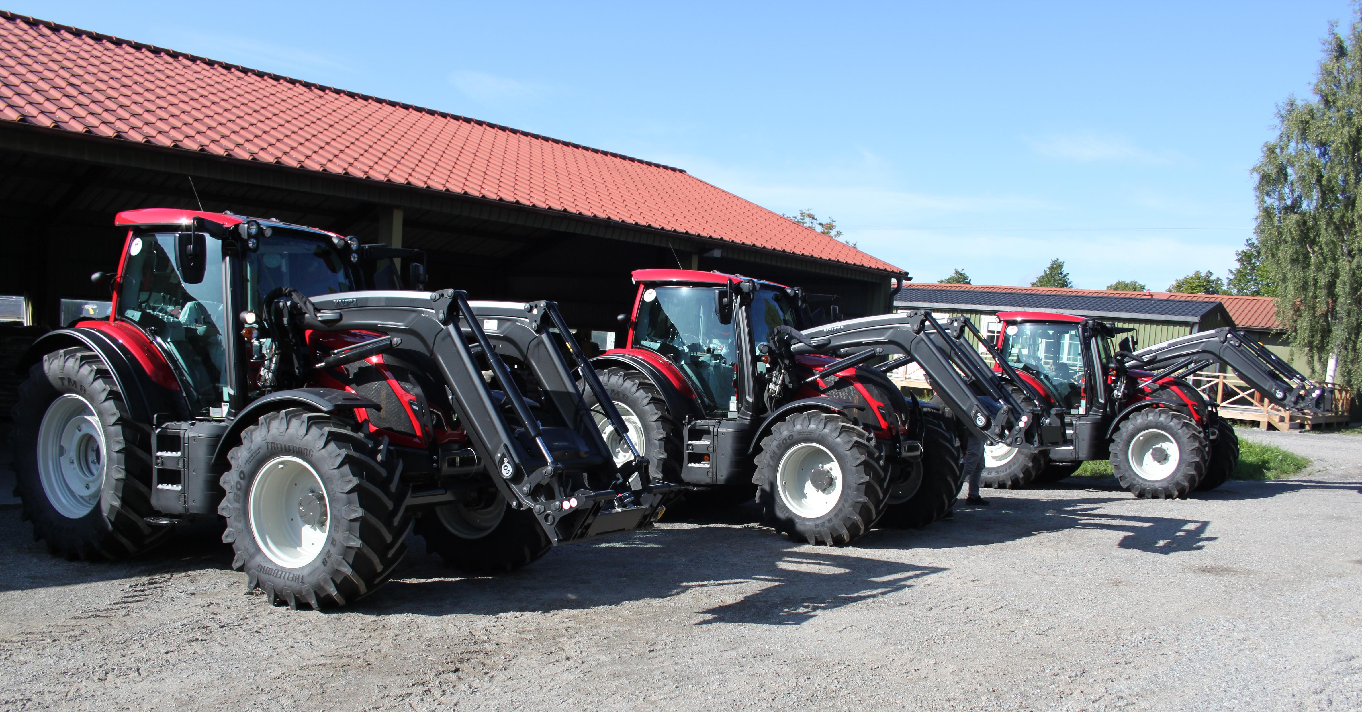 90 % mindre växthusgasutsläpp från Menhammars traktorer